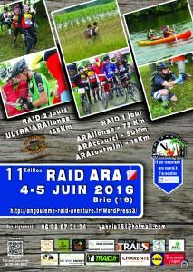 raid ara2016 affiche