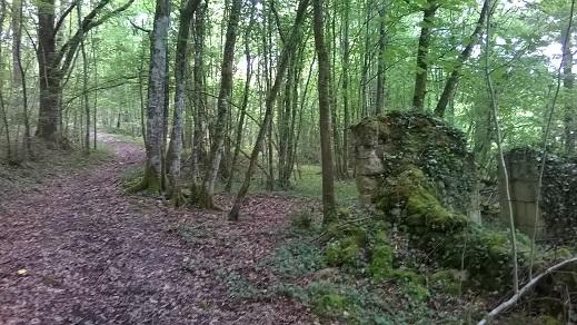 parcours 19km 3 ruine
