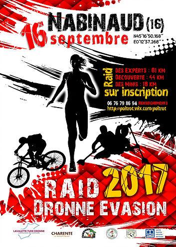 raid dronne evasion2017
